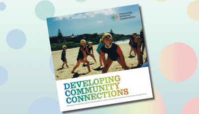 developing community connections book